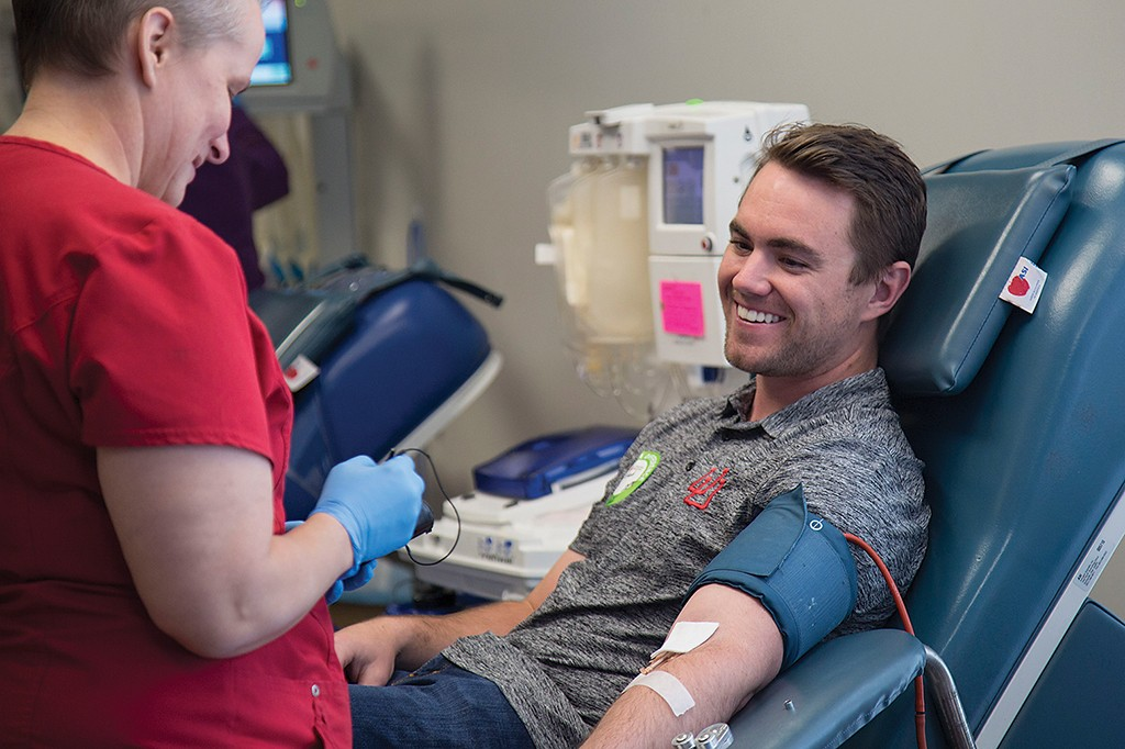 Red Cross seeks blood donations in tough winter